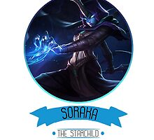 League Of Legends - Soraka by TheDrawingDuo