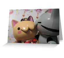 Cat lover Greeting Card