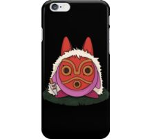 Mononoke kirby -black- iPhone Case/Skin
