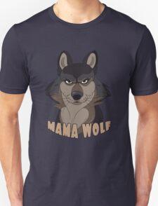 Mama Wolf Unisex T-Shirt