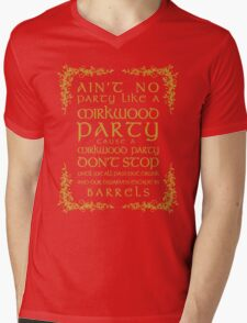 Ain't No Party Like a Mirkwood Party Mens V-Neck T-Shirt