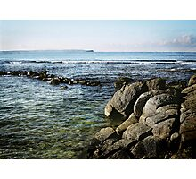 Bird Island from the rock pool Photographic Print