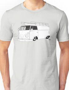 VW Type 2 Panel Van Unisex T-Shirt