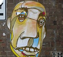 Face Brickwork by 'ears' by Jeffrey Hamilton
