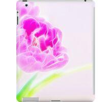 Pretty Pale Fractalius Tulips iPad Case/Skin