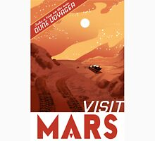 Visit Mars  Travel Style Poster , Space Unisex T-Shirt