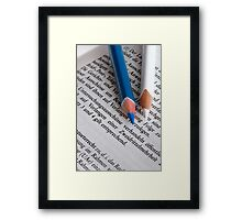 Parliamentary Enquiry Committee  Framed Print