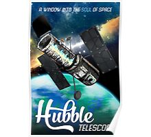 Hubble Telescope Space Travel Poster Poster