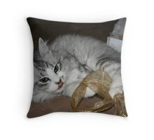 """Let me think about this..."" Throw Pillow"