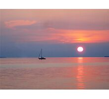 Sunset from Key West Photographic Print