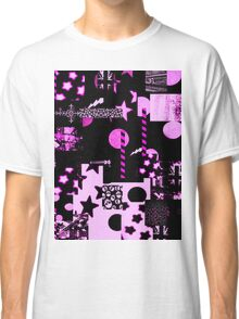Abstract Patterns in Purple Tshirt Classic T-Shirt