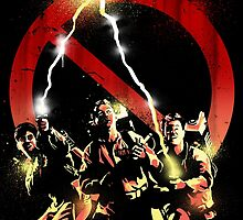 ghostbusters crossing the streams by lynxcollection