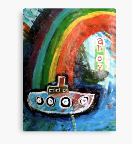 ahoy there  Canvas Print