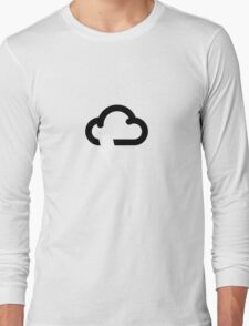 Storms may affect some areas Long Sleeve T-Shirt