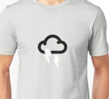Storms may affect some areas Unisex T-Shirt