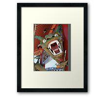 Dragon come to .... Khan  Framed Print