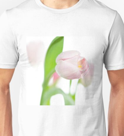 gentle pink tulips Unisex T-Shirt