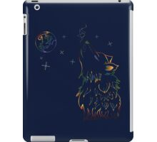 Colorful Howling Wolf 3 iPad Case/Skin