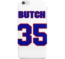 National baseball player Butch Huskey jersey 35 iPhone Case/Skin