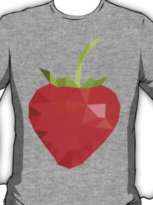 Low poly strawberry T-Shirt