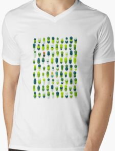 Robotz - Irish Grass Mens V-Neck T-Shirt