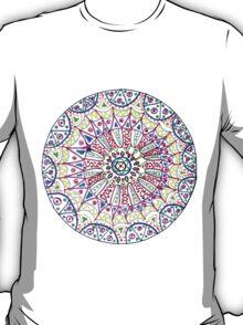 Pattern in a circle, mandala, fantasy. T-Shirt