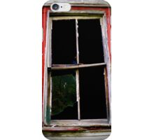 Looking Out And In  iPhone Case/Skin