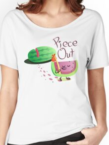 Piece Out Women's Relaxed Fit T-Shirt