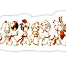 Zodiac Parade Sticker