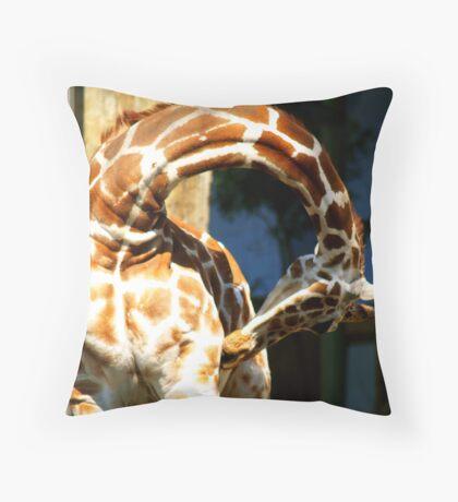Elegant Itch Throw Pillow