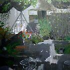 Irish garden by Noel McMahon