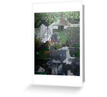Irish garden Greeting Card