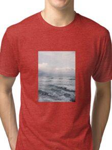 Misty Ocean Tri-blend T-Shirt