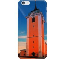 The village church of Neufelden IV | architectural photography iPhone Case/Skin