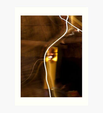 Electrical Veins? Art Print
