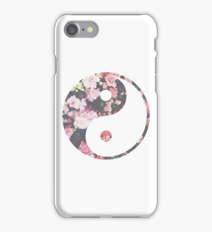 Hipster Yin Yang iPhone Case/Skin