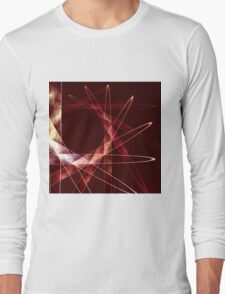 Glowing Spiral 4 Long Sleeve T-Shirt