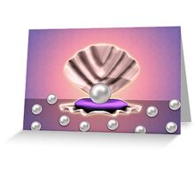 Pearl in shell 3 Greeting Card