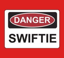 Danger Swiftie - Warning Sign Kids Clothes