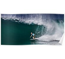 Dusty Payne at 2010 Billabong Pipe Masters In Memory Of Andy Irons Poster