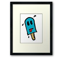 Skull Dezign Ice Pop Framed Print