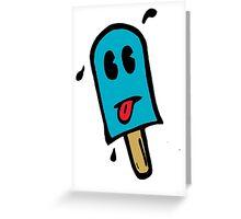 Skull Dezign Ice Pop Greeting Card