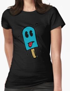 Skull Dezign Ice Pop Womens Fitted T-Shirt
