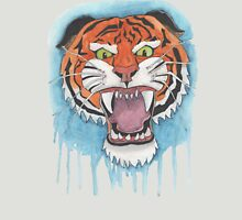 Tiger Watercolor Painting Unisex T-Shirt