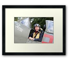Tribute to the 1940's RAF #3 Framed Print