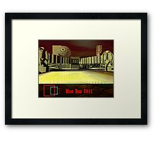 Moon Base 5911 Framed Print