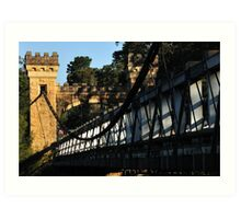 Kangaroo Valley Suspension Bridge Art Print