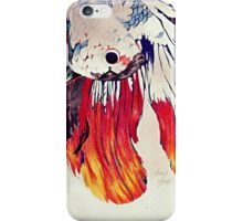 Siamese fighting fish (incomplete version) iPhone Case/Skin