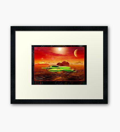 Moon Base 5912 Framed Print