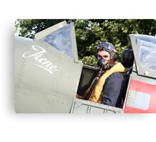 Tribute to the 1940's RAF #2 Canvas Print